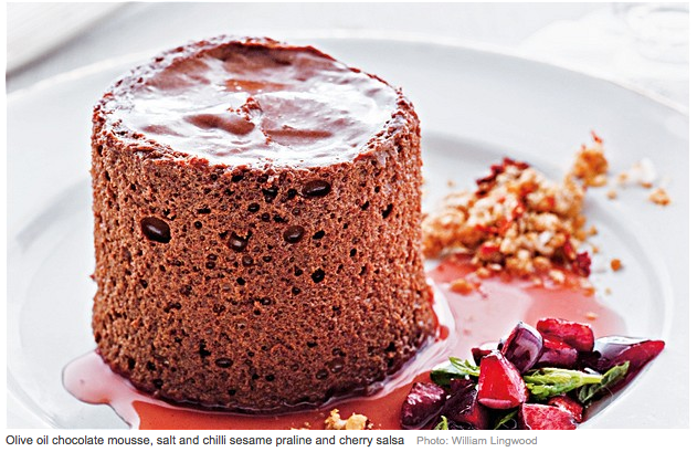denis cotter chocolate mousse