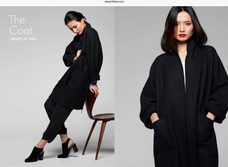 eileen fisher lustworthy coat